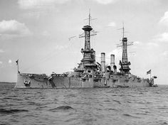 USS New Hampshire, the Navy's last pre-dreadnought battleship.
