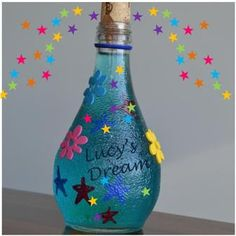 How to make a dream in a bottle. Roald Dahl's 'Big Friendly Giant'. So gonna do this with the girls this summer!