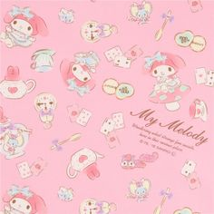 http://www.kawaiifabric.com/en/p11888-pink-My-Melody-rabbit-teapot-playing-card-biscuit-oxford-fabric.html