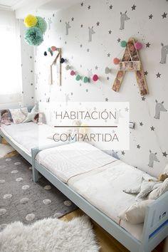 shared kids room, habitacion compartida