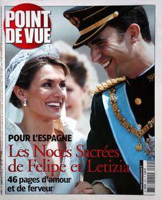 Casamento Felipe e Letizia na Point de Vue.