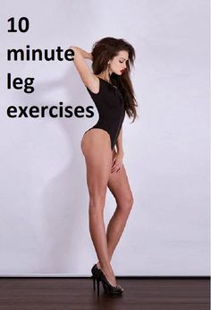 10 minute leg exercises