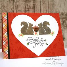 Simon Says Stamp Card Kit of The Month OCTOBER 2016 Nuts About You CK1016 Preview Image