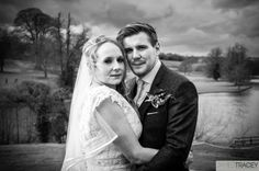 Ripley Castle #Wedding. Ian and Lindsay by James Tracey.