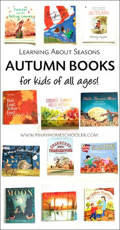 Collection of Autumn Books for Kids Preschool Books, Kids Learning Activities, Autumn Activities, Books For Boys, Childrens Books, Kid Books, Bedtime Reading, Geography Lessons, Fallen Book