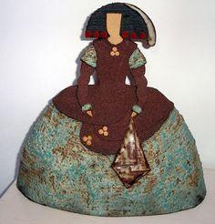 pinterest ceramica meninas - Buscar con Google