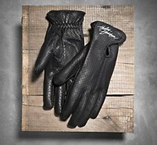 Perforated gloves provide great airflow and comfort on warm rides. Shop the Harley-Davidson® Women's Perforated Full-Finger Gloves today. Biker Gloves, Motorcycle Gloves, Women's Gloves, Harley Davidson Gloves, Sportster Iron, Bobber Style, Custom Bobber, Riding Gear, Motorcycle Parts And Accessories