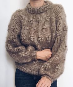 Image may contain: one or more people Mohair Sweater, Knit Cardigan, Crochet Quilt, Knit Crochet, Chunky Knitwear, Sweater Knitting Patterns, Sweater Weather, Autumn Winter Fashion, My Style
