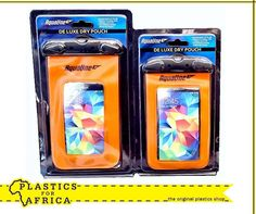 These #drypouches are ideal for cell phones, cameras and keys. Available from your nearest #PlasticsforAfrica branch.