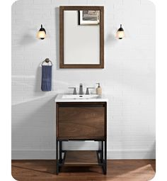 Inspiration Web Design Fairmont Designs V m Vanity in Natural Walnut