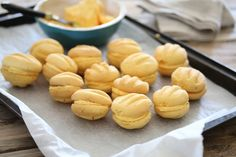 Old Fashioned Custard Cookies - Bits Of Carey Custard Biscuits, Custard Cookies, Biscuit Cookies, Biscuit Recipe, Cake Cookies, Cookie Cups, Baking Recipes, Cookie Recipes, Baking Desserts