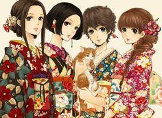 tumblr kimono inspiration find.