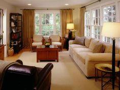 Traditional | Living Rooms | Elina Shaffy : Designer Portfolio : HGTV - Home & Garden Television