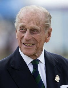 Prince Philip presents the prizes for the Carriage Driving for the Disabold at the Royal Windsor Horse Show. May 15, 2014