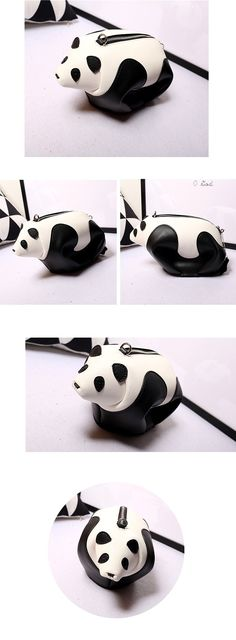 [Handmade gift ideas] It's so lovely to bag cute pandas with you everyday