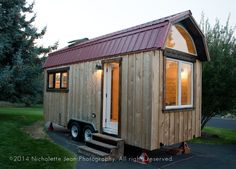 Gambrel roofs are amazing!  Makes TH look so much more spacious!   ---Ouch!  $65,000!!!  Tiny Craftsman House for Sale in Nevada