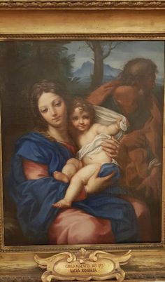The Holy Family - Carlo Maratta 1675-80 at the Capitoline Museums in Rome, Italy