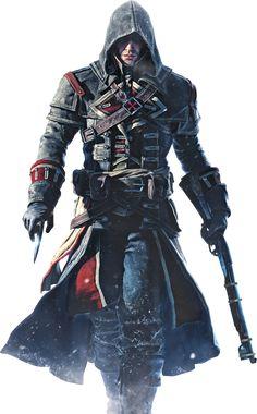 Assassins creed games!!  Assassin's Creed - Rogue Render By Ashish913 by Ashish913 on deviantART