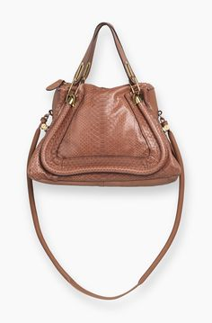 Or maybe even this one. It's kinda a cool color.  Snakeskin Chloe bag.