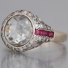 Antique Rose Cut Diamonds..... by Eva