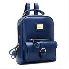 Vintage Preppy Design Soft Backpack
