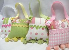 Gift for Girls Tooth Fairy Pillow or Purse Toy by SweetRinaLou, $16.00