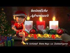 Advent jetzt beginnt die Zeit, in der die Kerze brenntWeihnachtenWeihnachtslieder, Animation - YouTube