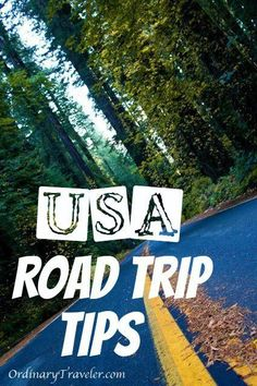 Tips for Taking a Road Trip in the United States #travel #roadtrip
