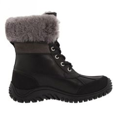 UGG Boots - Adirondack Short - Black - 5469