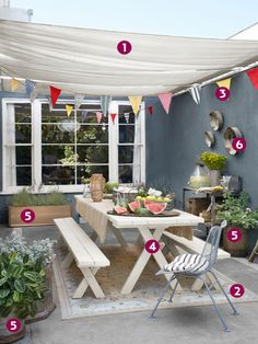 Create an Inspiring Outdoor Dining Room