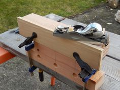 """Build a """"Bench Bull"""" – a simple bench jig that can make your woodworking operations a little easier...even if you don't have a """"proper"""" workbench."""