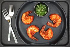 #Recipe: Tomato-Cilantro Shrimp
