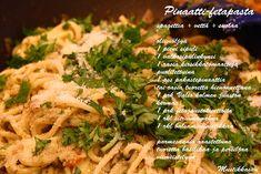 Mustikkasuu: marraskuuta 2012 Pasta, Chicken, Meat, Food, Essen, Meals, Yemek, Eten, Cubs
