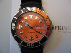 [Erledigt] J.Springs Diver Automatik - BEB048 - orange - UhrForum