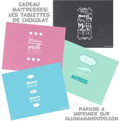 choco maitresse Happy Birthday Cards, Happy Day, Diy For Kids, Teacher Gifts, Free Printables, Diy And Crafts, Cards Against Humanity, Messages, Activities