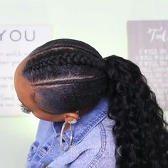 Black Braided Hairstyles 731835008182328808 - nappyme vous souhaite une belle semaine Source by nappymeofficial Hair Ponytail Styles, Natural Hair Ponytail, Natural Braided Hairstyles, Protective Hairstyles For Natural Hair, Curly Hair Styles, Natural Hair Styles, Natural Dreads, Braided Updo, Black Kids Braids Hairstyles