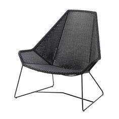 Breeze Highback Chair - ELLEDecor.com