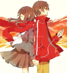 Image result for couple ayano x shintaro