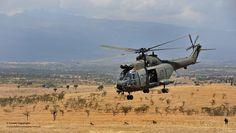 RAF Puma Helicopter on Exercise Askari Thunder in Kenya by Defence Images, via Flickr