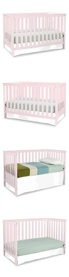 Nursery Furniture 20422: Stork Craft Rosland 3-In-1 Convertible Crib In Pastel Pink -> BUY IT NOW ONLY: $144.52 on eBay!