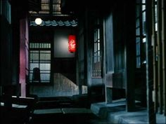 This is such a typical Ozu shot. From The End of Summer.