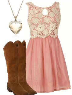 Pink & Lace Southern Belle Dress