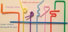Look how fun these super stretchy kids straws are! They stretch to 13 inches!  Great party accessory or dinnertime fun!  https://www.etsy.com/listing/207943188/super-stretchy-drink-straws?ref=sr_gallery_2&ga_search_query=stretchy+straws&ga_search_type=all&ga_view_type=gallery