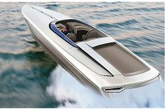 FEARLESS 28:Luxury Powerboat By PORSCHE DESIGN! See More at: www.deluxestory.com _____________________________