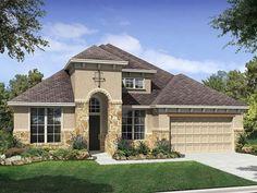 CalAtlantic Homes Graham F of the Dellrose - Texas Series 60s community in Cypress, TX.