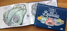 Les illustrations de Lapin - sketchbooks - Carnet De Bagnoles Vol.1