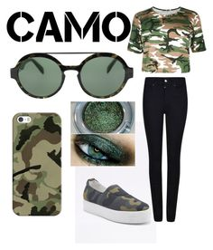 """""""Campo style"""" by victoria-muzio ❤ liked on Polyvore featuring Armani Jeans, Italia Independent, Urban Decay, Casetify and camostyle"""