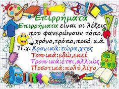 School Hacks, School Projects, Grammar Book, Greek Language, Kids Corner, Dyslexia, Home Schooling, Diy For Kids, Coaching