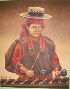 folklor, marimba Art Gallery, David, Art Art, Jun, Blog, Painting, Style, Author, Latino Art