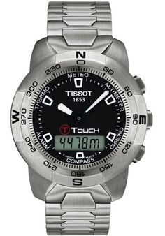 Price:$537.00 #watches Tissot T33158851, Tissot, the 'Innovators by Tradition', has been pioneering craftsmanship and innovation since its foundation in 1853. The company has had its home in the Swiss watch making town of Le Loche in the Jura mountains but now has its presence in over 150 countries. The Tissot innovation leadership is enabled by the development of high-tech products, special materials, and advanced functionality.